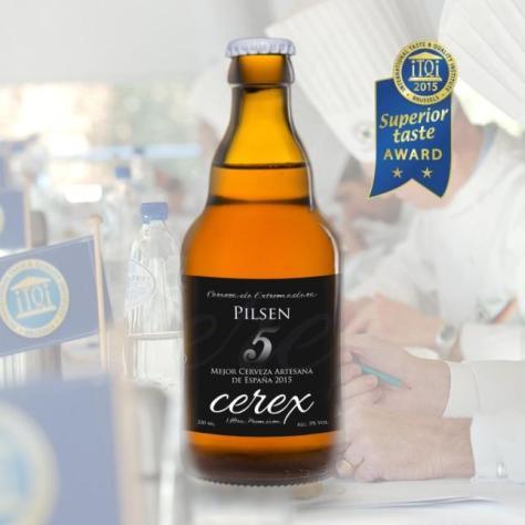 Cerex Pilsen Cerveza de Extremadura
