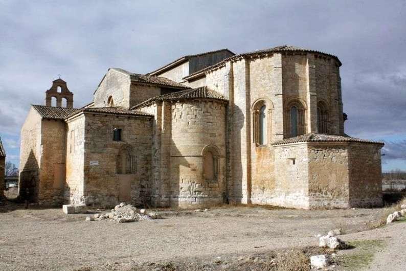 1. monasterio de santa maria de palazuelos cabezon de pisuerga