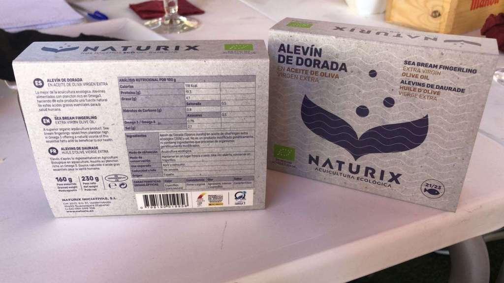 ALEVINES DE DORADA