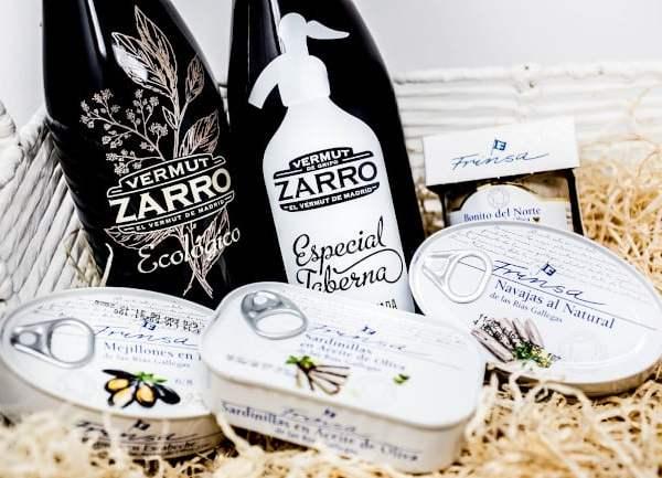 Zarro, el vermut de Madrid y conservas Frinsa, vuelven a celebrar juntos la navidad