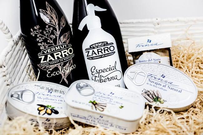 vermut zarro y conservas frinsa