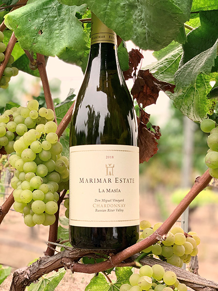 MARIMAR ESTATE - La Masia Chardonnay 2018 máxima distinción en el certamen Global Chardonnay Masters 2020