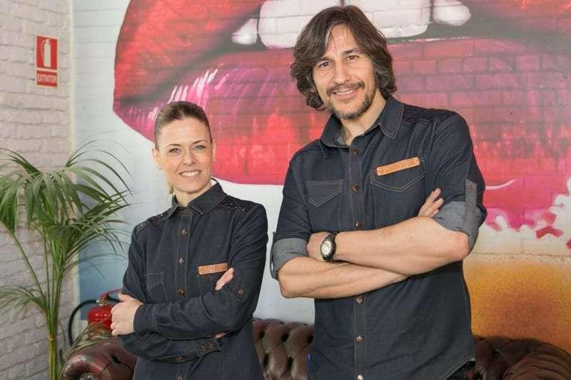 Fernando y Susana La clandestina café