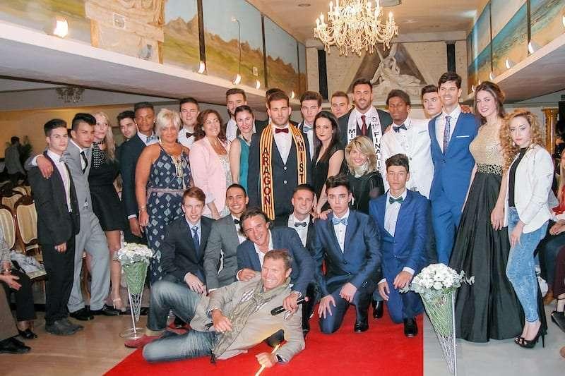 CANDIDATOS, ORGANIZADORES Y COLABORADORES DE MISTER INTERNATIONAL SPAIN ARAGON 2016