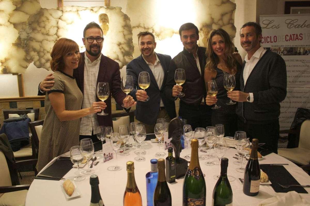 Cata Champagne vignerons Los Cabezudos (14)