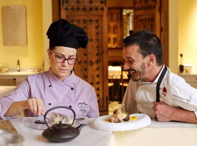 Culinaria en el hotel Palafox