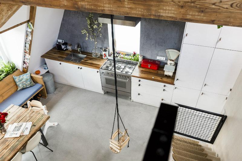 4.1 - Loft industrial en Amsterdam - cocina
