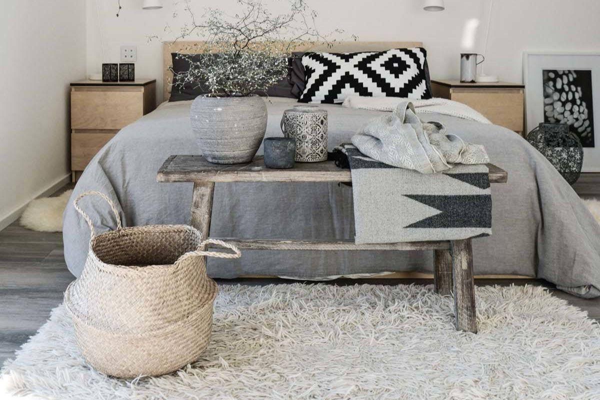 7 - claves dormitorio nordico - elementos naturales