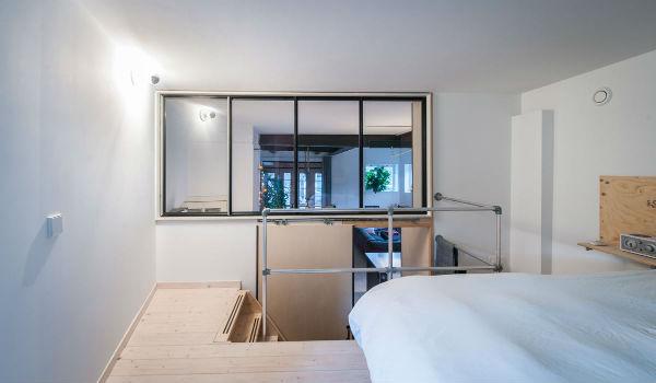 11 - loft industrial color - dormitorio