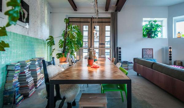 2 - loft industrial color - comedor