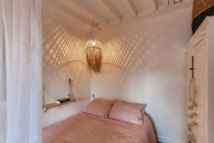 6 - Estudio bohemio paris - dormitorio