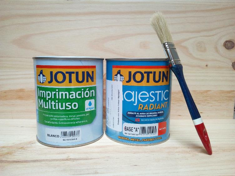 Aparador castellano renovado