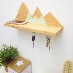 estante montalla cuelga llaves - Wood