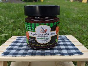 tartinade faible en glucides fraises et basilic