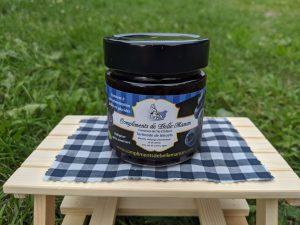 tartine bleuets faible en glucides