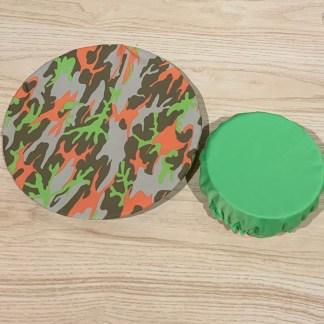 bulle couvre bol armée vert fluo