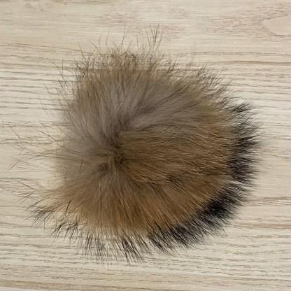 pompon fourrure naturel