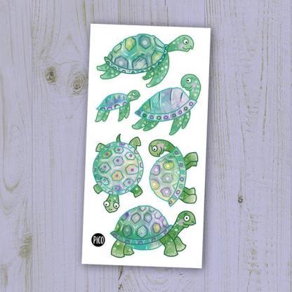 pico tatoo les jolies tortues