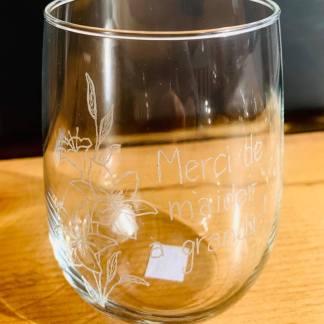 verre gravé artisan