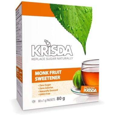 sachet de sucre fruit de moines 80 sachets
