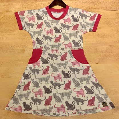 lune robe 8 ans chats