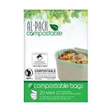 al-pack sacs compostables