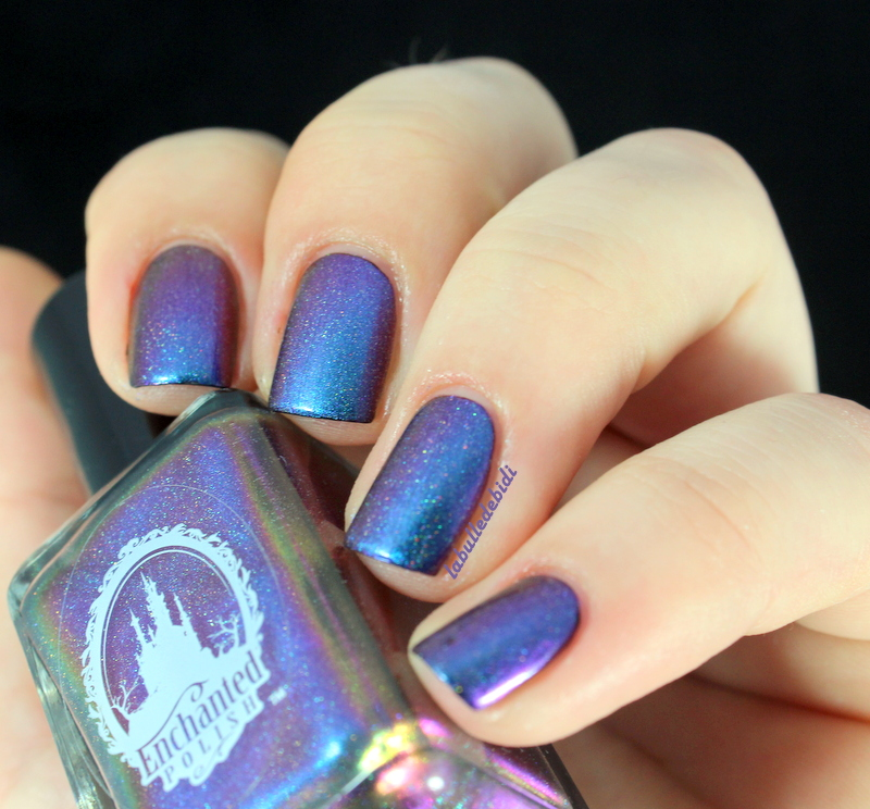 [Enchanted Polish- Across the Universe]-Magie du stamping holo