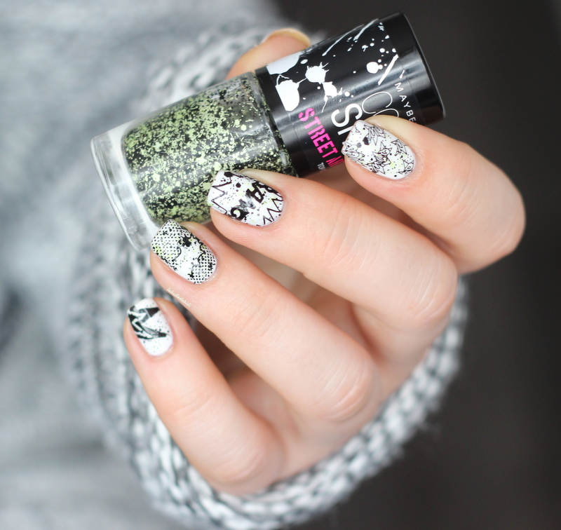 Pshiiit graffiti nails!