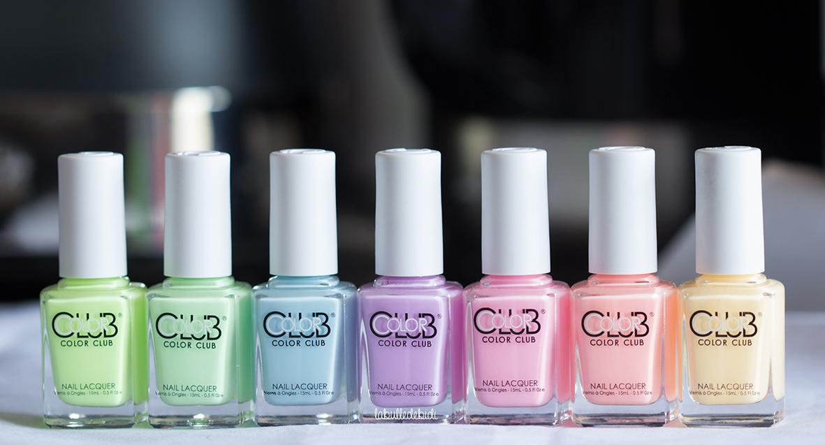 Les pastel néon Color Club: le must have mes soeurs npa!