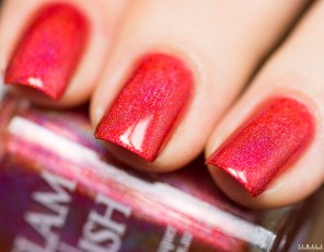 GLAM POLISH-NO LEI'S OVERS-HIBISCUS HIDEAWAY_4