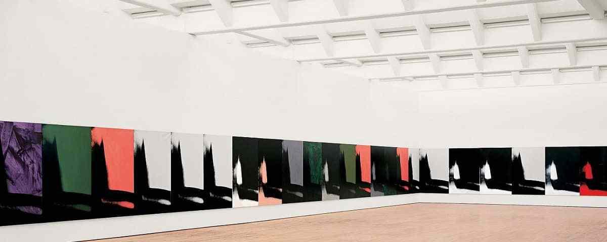 Andy Warhol sombras museo guggenheim Bilbao