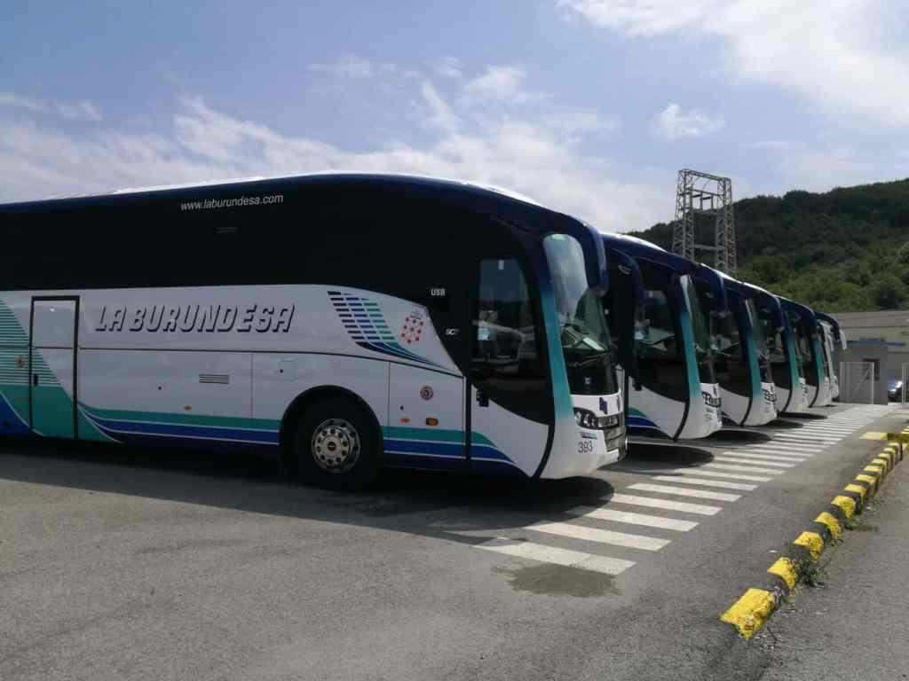 Renovamos flota en la burundesa con nuevos autobuses for Compra de comedores nuevos