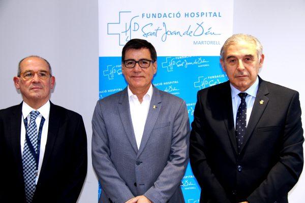 La Bustia presentacio ampliació i remodelació Hospital de Martorell
