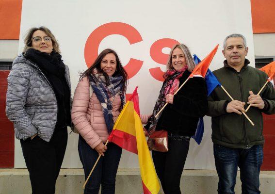 La Bustia Marta Garcia assiteix a Las Rozas inici campanya Cs Generals