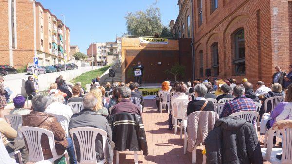 La Bustia presentacio cap de llista i candidatura ERC Masquefa