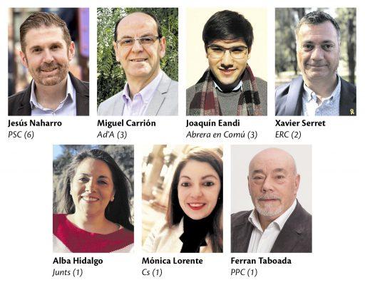 La Bustia eleccions municipals 2019 candidats Abrera