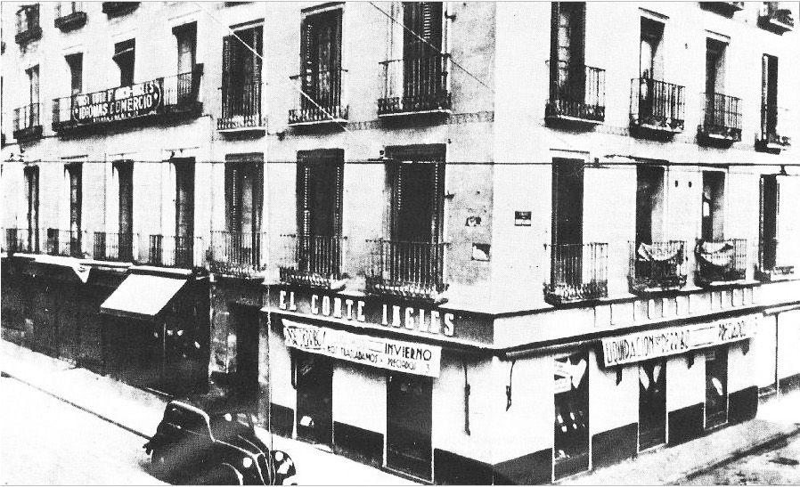 El primer El Corte Inglés estuvo en un edificio de Galerías Preciados