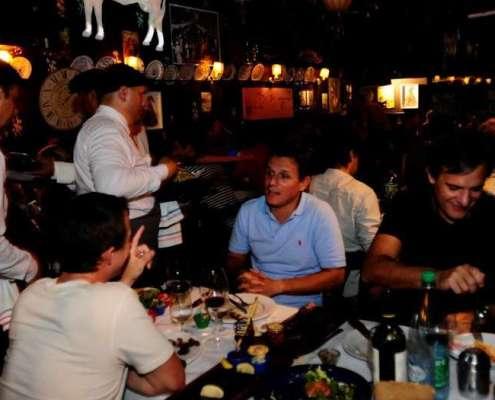 La Cabrera con la bondiola mechada para el Buenos Aires Food Week.
