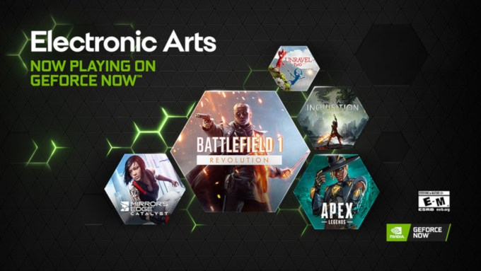 Electronic Arts llega a GeForce NOW