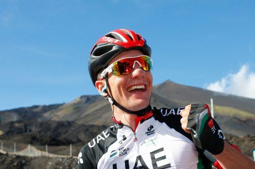 Giro d'Italia 2017 - 100a edizione - Tappa 4 - da Cefalu' a Etna - 181 km ( 112 miglia )
