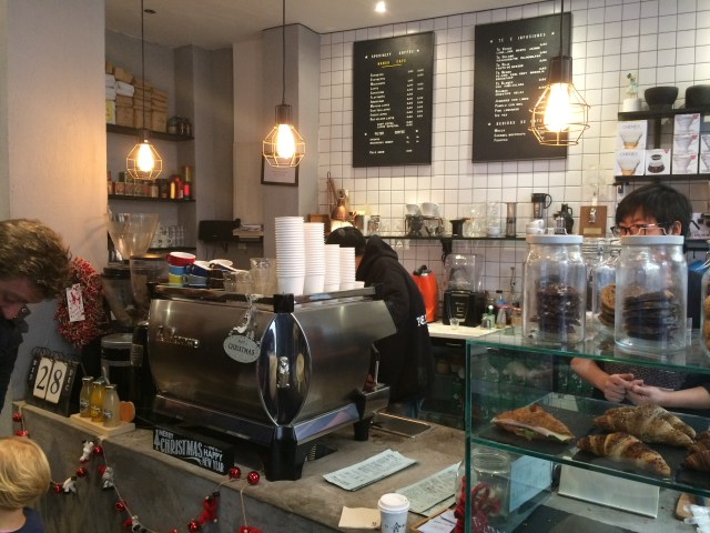 Hanso Café Cafetería de especialidad en Madrid.
