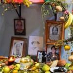 Fotografías de un altar