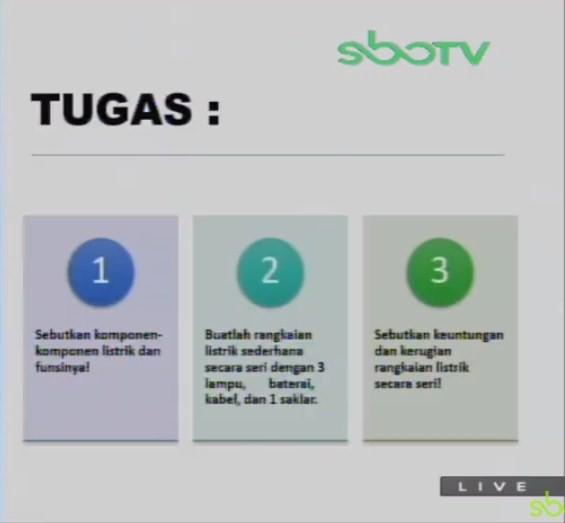 Soal dan Jawaban SBO TV 3 September SD Kelas 6