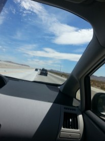 Boooorrrriinnggg, but beautiful drive to Vegas.