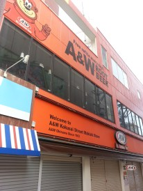 Everywhere in Okinawa you can find root beer and one of these eateries, A&W. The most famous of which is located at