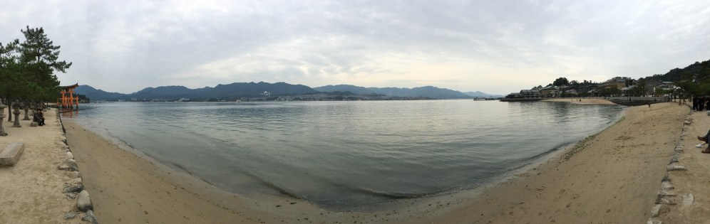 Panaramic view of Miyajima