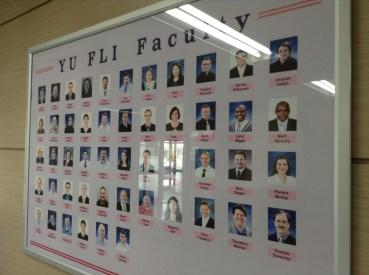 YU FLI Faculty