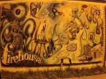 Firehouse's old mural.