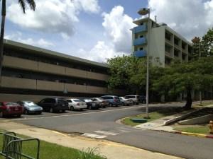 Edificio Luis Stefani del Recinto Universitario de Mayaguez de la UPR.