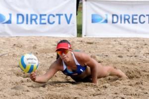 Lina Bernier, de Puerto Rico, en la competencia que tiene lugar en Boquerón.